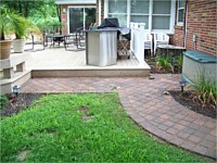 Paver and Raised Patios